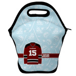 Hockey Lunch Bag w/ Name and Number