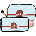 Hockey Makeup / Cosmetic Bag (Personalized)