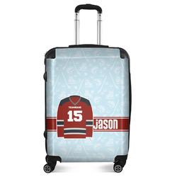 """Hockey Suitcase - 24""""Medium - Checked (Personalized)"""