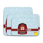 Hockey Memory Foam Bath Mat (Personalized)