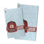 Hockey Microfiber Golf Towel (Personalized)