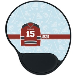 Hockey Mouse Pad with Wrist Support