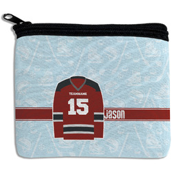 Hockey Rectangular Coin Purse (Personalized)