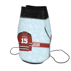 Hockey Neoprene Drawstring Backpack (Personalized)