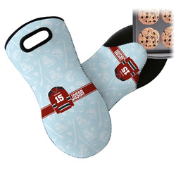 Hockey Neoprene Oven Mitt (Personalized)