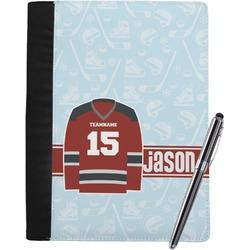 Hockey Notebook Padfolio (Personalized)