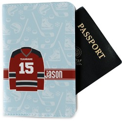 Hockey Passport Holder - Fabric (Personalized)