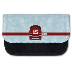 Hockey Canvas Pencil Case w/ Name and Number