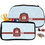 Hockey Pencil / School Supplies Bag (Personalized)