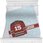 Hockey Minky Blanket (Personalized)