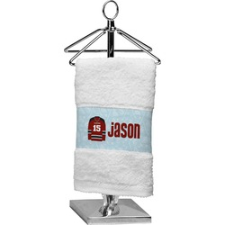 Hockey Cotton Finger Tip Towel (Personalized)