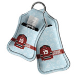 Hockey Hand Sanitizer & Keychain Holder (Personalized)
