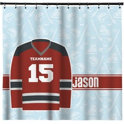 Hockey Shower Curtain (Personalized)