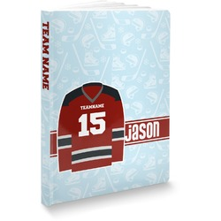 Hockey Softbound Notebook (Personalized)