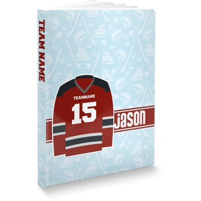 Hockey Softbound Notebook (Personalized)
