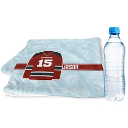 Hockey Sports Towel (Personalized)