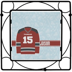 Hockey Square Trivet (Personalized)