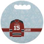 Hockey Stadium Cushion (Round) (Personalized)