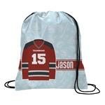 Hockey Drawstring Backpack (Personalized)