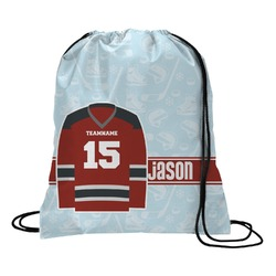 Hockey Drawstring Backpack (Personalized)