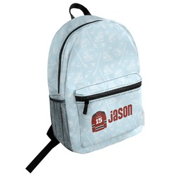 Hockey Student Backpack (Personalized)