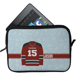 Hockey Tablet Case / Sleeve (Personalized)