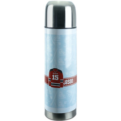 Hockey Stainless Steel Thermos (Personalized)
