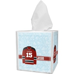 Hockey Tissue Box Cover (Personalized)