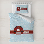 Hockey Toddler Bedding w/ Name and Number