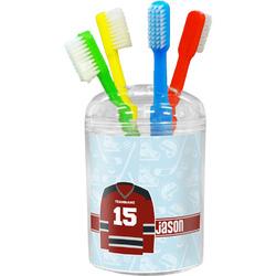 Hockey Toothbrush Holder (Personalized)