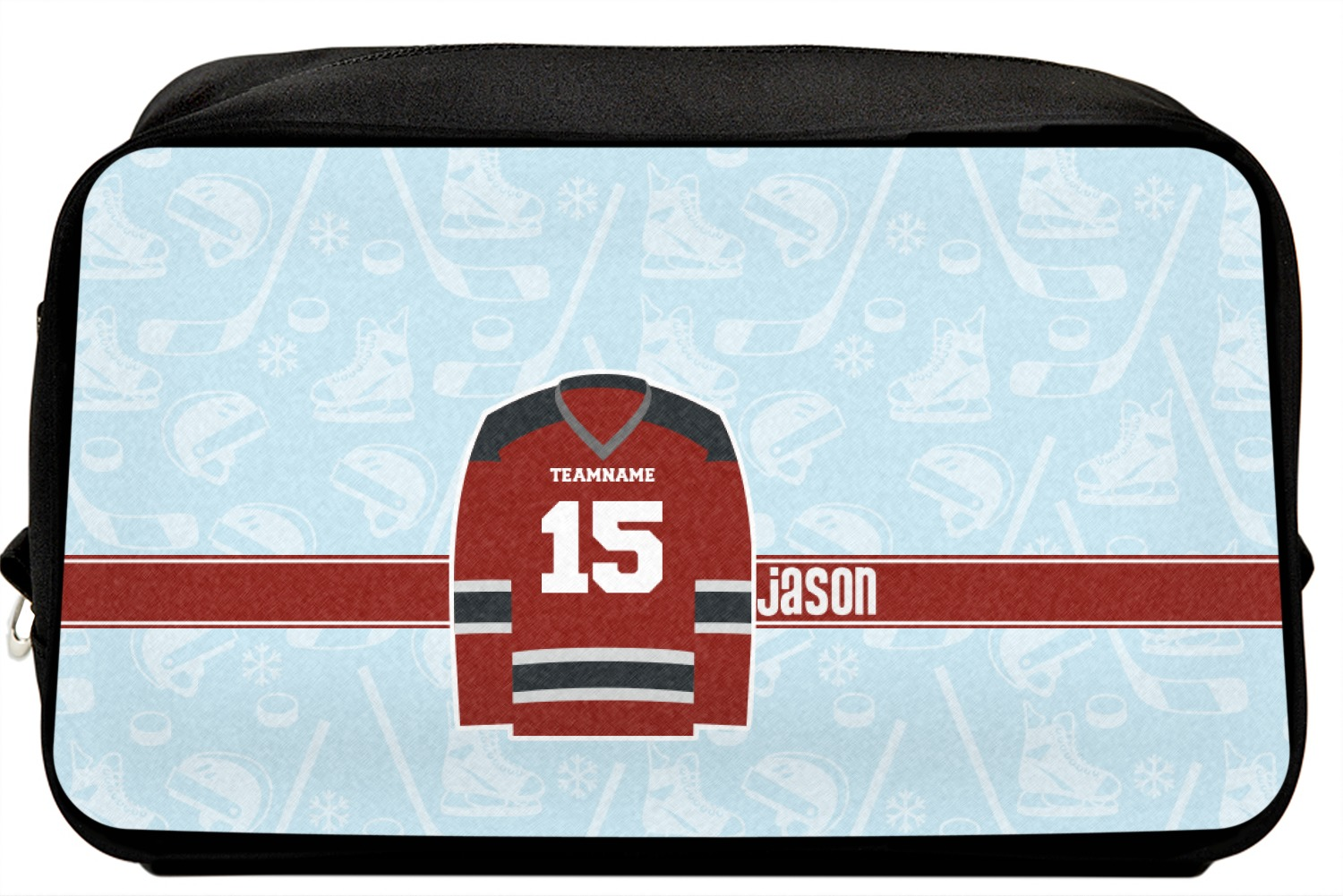 Personalized Hockey Messenger Bag