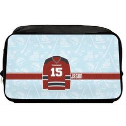 Hockey Toiletry Bag / Dopp Kit (Personalized)