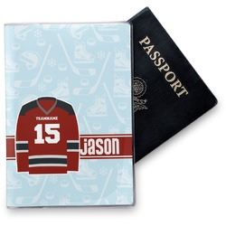 Hockey Vinyl Passport Holder (Personalized)