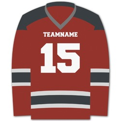 Hockey Graphic Decal - XLarge (Personalized)