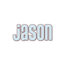 Hockey Name/Text Decal - Large (Personalized)