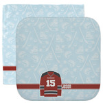 Hockey Facecloth / Wash Cloth (Personalized)