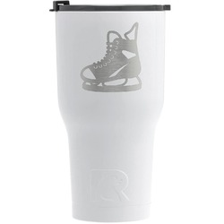 Hockey RTIC Tumbler - White - Engraved Front (Personalized)