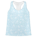 Hockey Womens Racerback Tank Top (Personalized)
