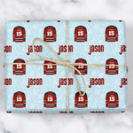 Hockey Wrapping Paper (Personalized)