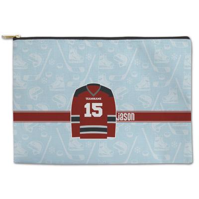 Hockey Zipper Pouch (Personalized)
