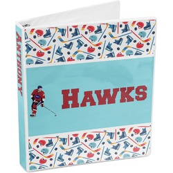 Hockey 2 3-Ring Binder (Personalized)