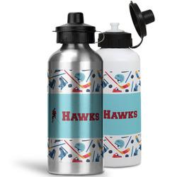 Hockey 2 Water Bottles- Aluminum (Personalized)