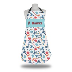 Hockey 2 Apron (Personalized)