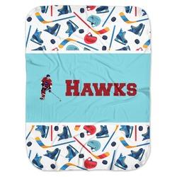 Hockey 2 Baby Swaddling Blanket (Personalized)