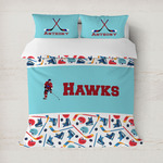 Hockey 2 Duvet Cover (Personalized)