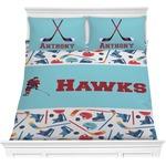 Hockey 2 Comforters (Personalized)