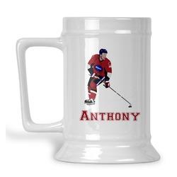 Hockey 2 Beer Stein (Personalized)