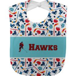 Hockey 2 Baby Bib (Personalized)
