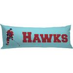 Hockey 2 Body Pillow Case (Personalized)