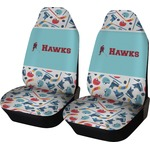 Hockey 2 Car Seat Covers (Set of Two) (Personalized)